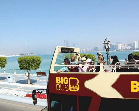 Big Bus Abu Dhabi 1 Day Classic Hop On Hop Off Tour