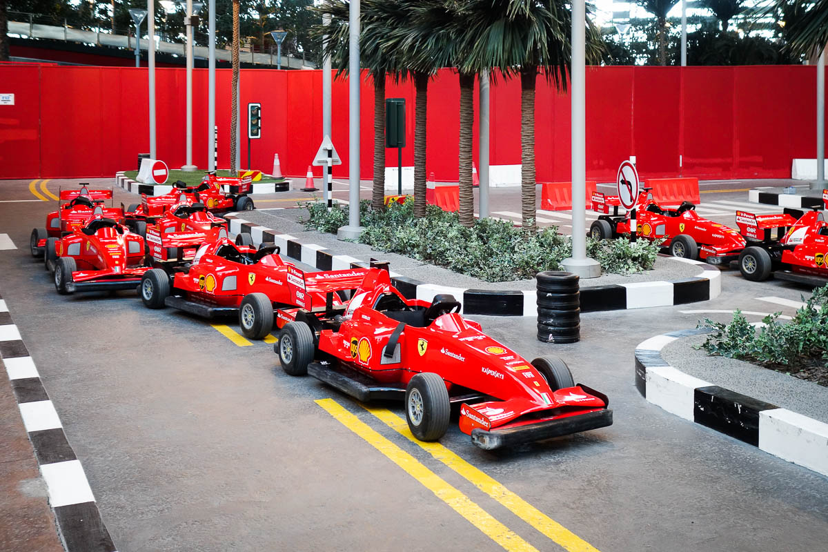 Full Day Ferrari World Bronze Admission Ticket