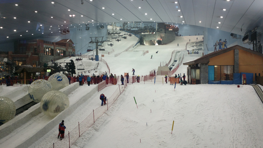 Half Day Dubai Snow Park With Transfer