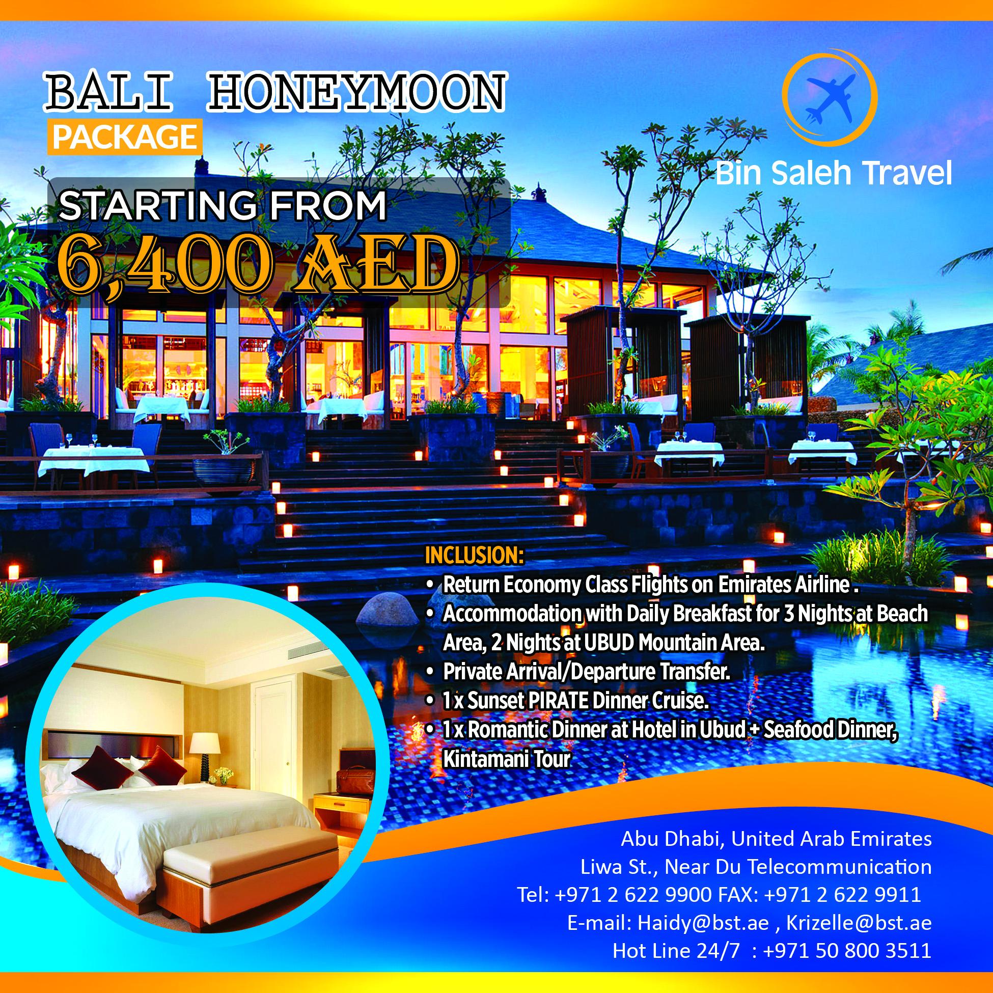 Bali (Honeymoon Package)