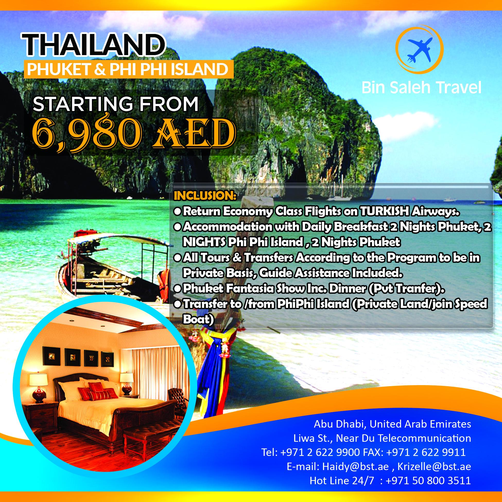 PHI PHI & PHUKET, THAILAND