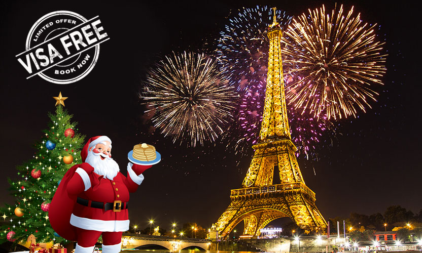 Italy - Switzerland - Paris | Christmas & New Year Special Tour Package